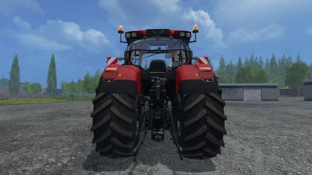 """Мод """"Case Optum 300 CVX v 1.4.3"""" для Farming Simulator 2015"""