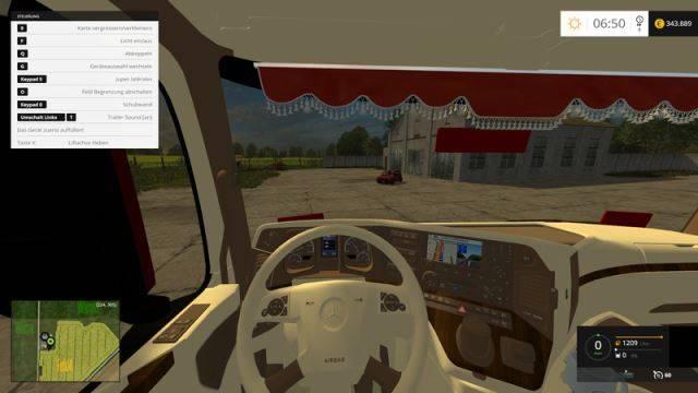 "Мод ""Mercedes MP4 Tuning v 4.0"" для Farming Simulator 2015"
