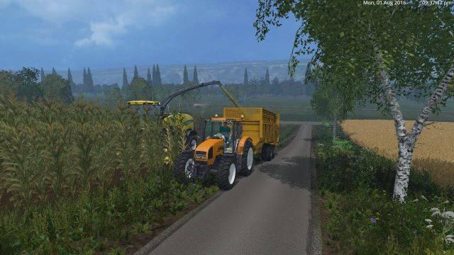 "Мод ""Renault Ares 620 RZ v 1.0"" для Farming Simulator 2015"