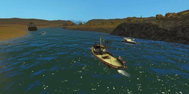 "Мод ""Boat Man v 2.0"" для Farming Simulator 2015"