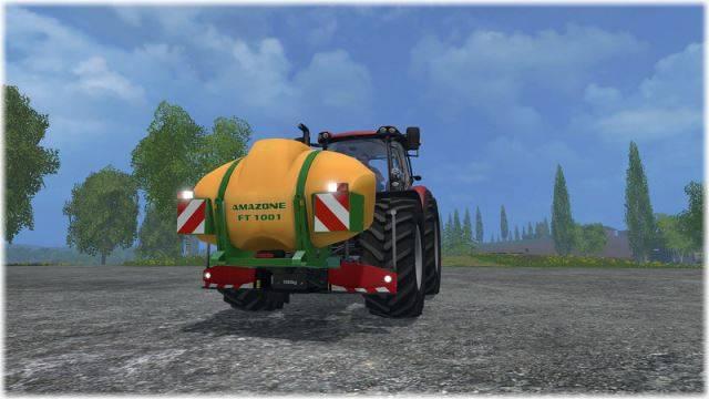 "Мод ""Agribumper for Optum 300 CVX v 1.0"" для Farming Simulator 2015"