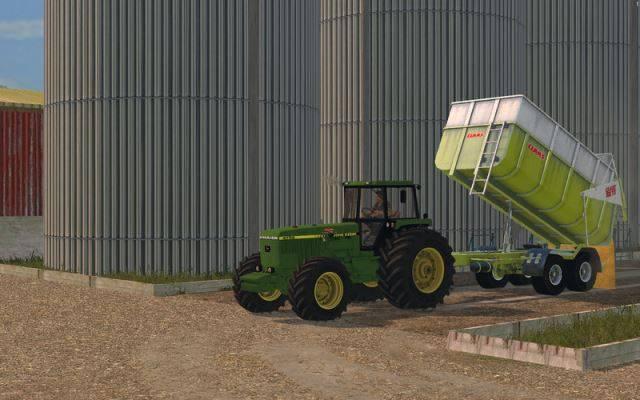 "Мод ""Claas Carat 180TD Pack v 1.0.0"" для Farming Simulator 2015"