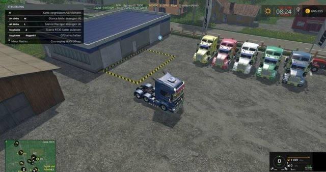 "Мод ""Kenworth T800 v 1.0"" для Farming Simulator 2015"