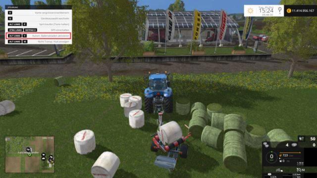 "Мод ""Скрипт Automatic Bale Wrapper v 1.0"" для Farming Simulator 2015"