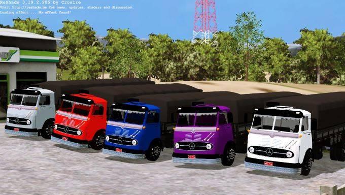 "Мод ""Mercedes LP 321 Graneleiro v 1.0"" для Farming Simulator 2015"