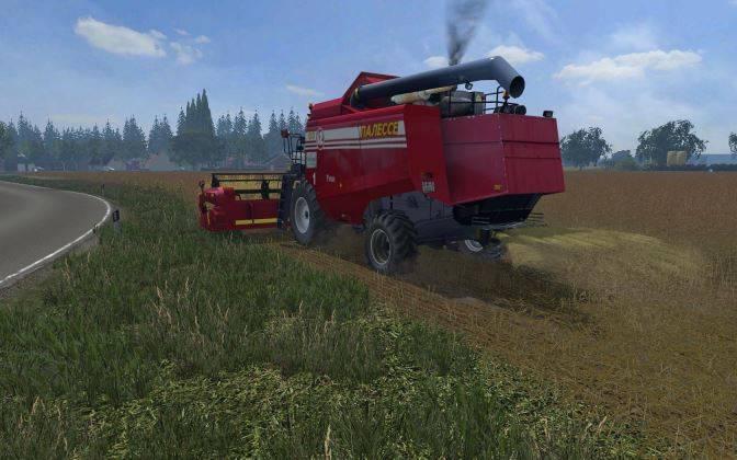 "Мод ""Палессе GS-12 v 1.0"" для Farming Simulator 2015"