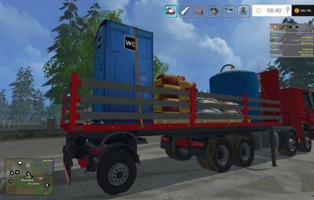 """Мод """"Iveco Clixtar Systam Pack v 1.3"""" для Farming Simulator 2015"""
