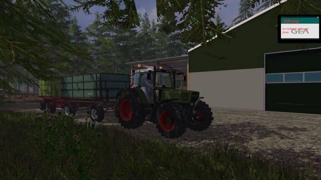 "Мод ""Fendt Favorit 515C Washable v 2.0"" для Farming Simulator 2015"