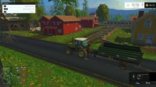 "Мод ""Карат Arches v 1.3"" для Farming Simulator 2015"