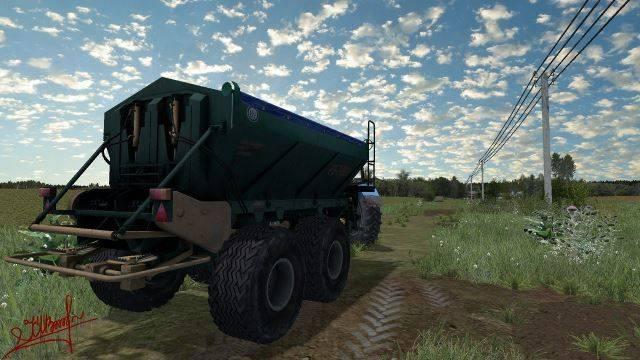 "Мод ""РУ-7000 v 1.0"" для Farming Simulator 2015"