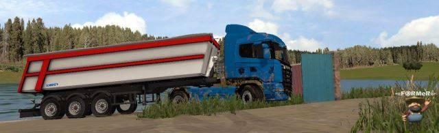 "Мод ""Scania R730 Streamliner v 1.0"" для Farming Simulator 2015"