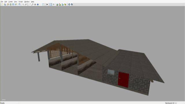 "Мод ""Storage Hall"" для Farming Simulator 2015"