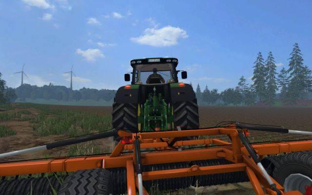 "Мод ""Laumetris compaction roller TVLL - 8 v 1.0"" для Farming Simulator 2015"