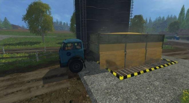 "Мод ""МАЗ-509 и прицеп 9380 v 1.0"" для Farming Simulator 2015"
