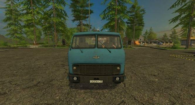 "Мод ""МАЗ-509 Fix"" для Farming Simulator 2015"