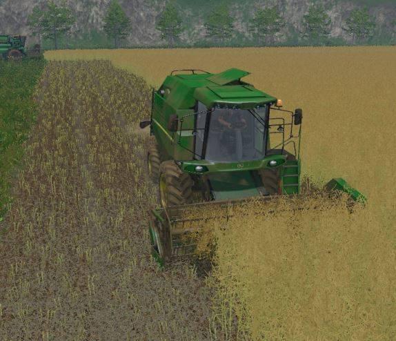 "Мод ""JohnDeere W330 v 1.2"" для Farming Simulator 2015"
