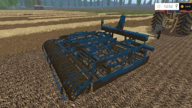 "Мод ""Lemken Kompaktor S300 v 1.2"" для Farming Simulator 2015"