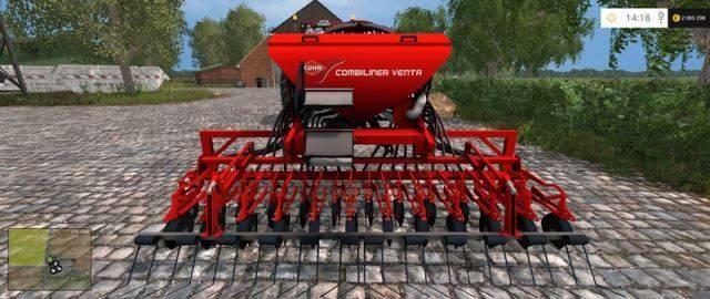 "Мод ""Kuhn Venta LC402 & HR 404 v 1.0"" для Farming Simulator 2015"
