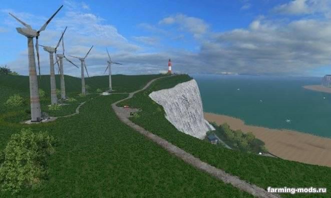 "Мод ""Карта Sandy Bay Redux v 3.0 Lite Edition"" для Farming Simulator 2015"