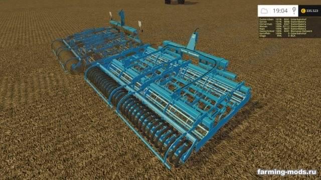 "Мод ""Lemken Kompaktor S300 & S400 v 1.6"" для Farming Simulator 2015"