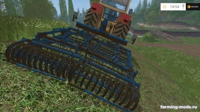"Мод ""Lemken Kompaktor S300 & S400 v 1.7"" для Farming Simulator 2015"