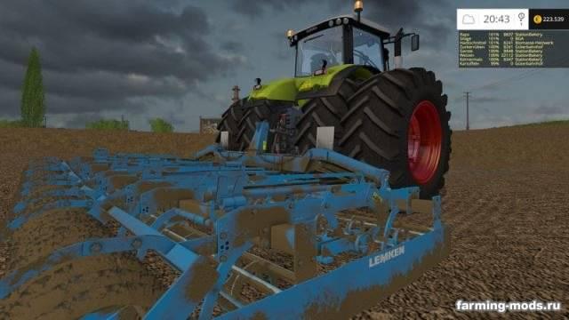 "Мод ""Lemken Kompaktor K-Series v 1.5"" для Farming Simulator 2015"