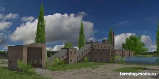 "Мод ""Карта Moszczyna v 2.3.6"" для Farming Simulator 2015"