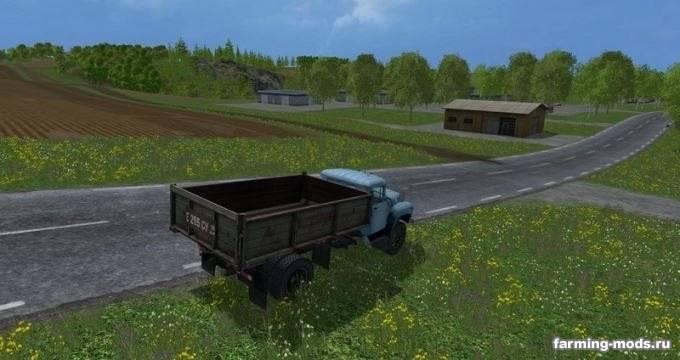 "Мод ""Зил 130 v 1.0"" для Farming Simulator 2015"