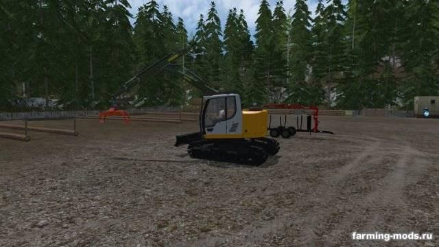 "Мод ""Liebherr 914 Compact v 1.0"" для Farming Simulator 2015"