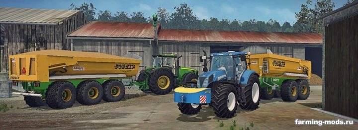 "Мод ""Joskin Trans-KTP Pack v 2.1"" для Farming Simulator 2015"