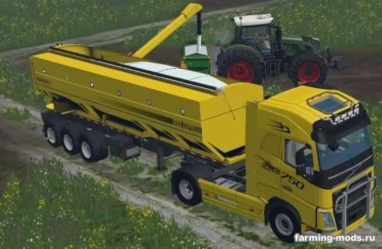 "Мод ""Volvo FH16 v 1.0"" для Farming Simulator 2015"