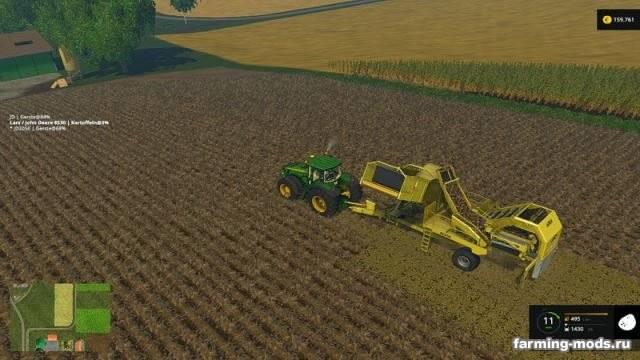 "Мод ""Ropa Keiler v 1.0"" для Farming Simulator 2015"
