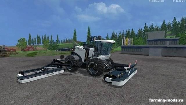 """Мод """"Krone BiG M500 v 2.5"""" для Farming Simulator 2015"""