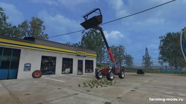 "Мод ""Case Farmlift 632 Pack v 1.0"" для Farming Simulator 2015"