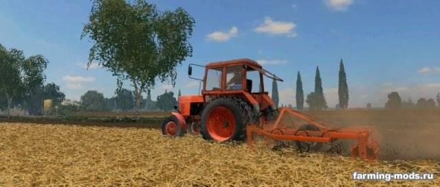"Мод ""Laumetris suspended cultivator KLL-3,6L v 1.0"" для Farming Simulator 2015"