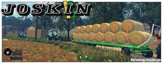 "Мод ""Joskin Wago TRAILED 10m v 1.0 AutoLoader"" для Farming Simulator 2015"