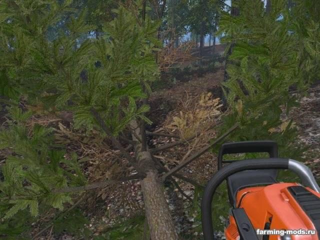 "Мод ""Fir v 2.0"" для Farming Simulator 2015"