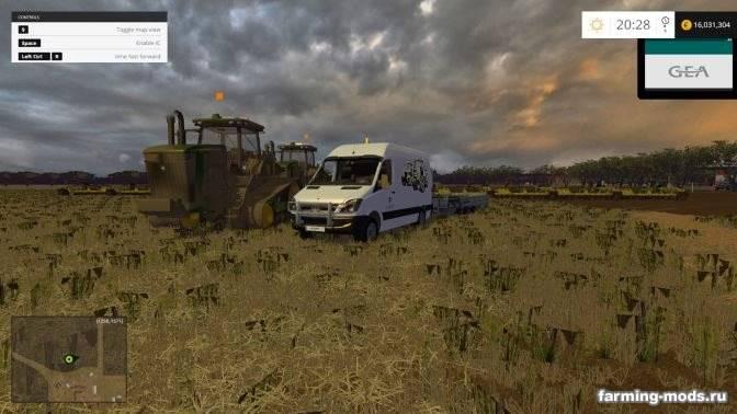 "Мод ""Pall of Castrol Oil"" для Farming Simulator 2015"