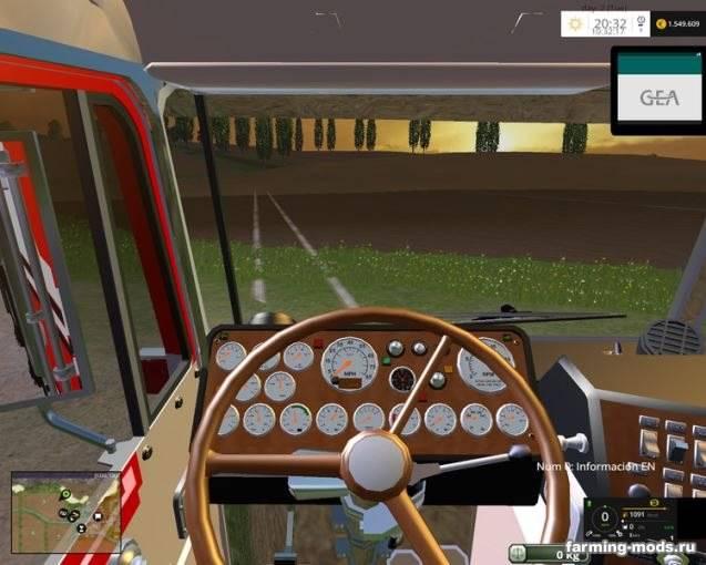 "Мод ""Kenworth K100 CabOver v 2.1"" для Farming Simulator 2015"