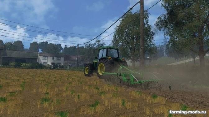 "Мод ""Laumetris suspended cultivator KLL-4 v 1.0"" для Farming Simulator 2015"