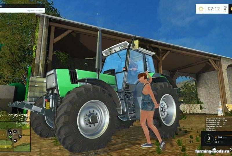 "Мод ""Placeable woman v 1.0"" для Farming Simulator 2015"