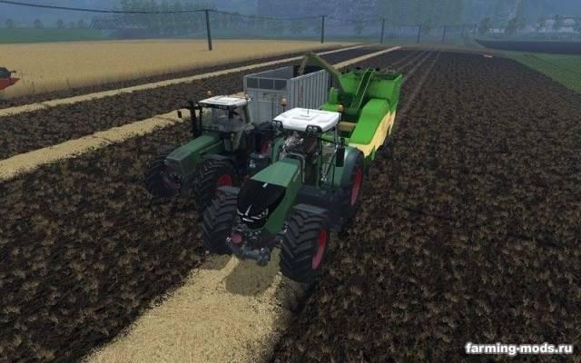 "Мод ""Krone Premos 5000 v 2.0 Rus"" для Farming Simulator 2015"