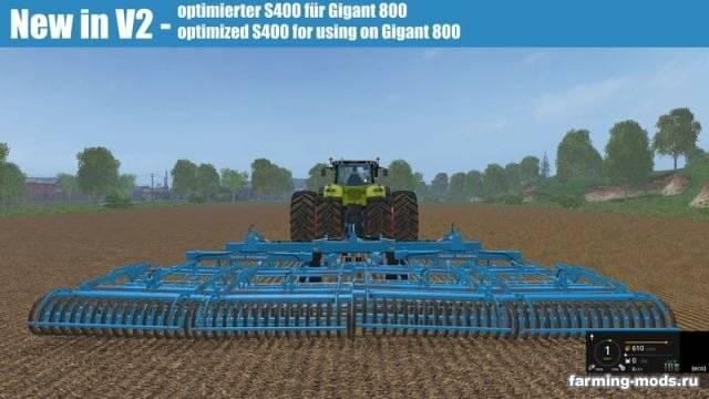"Мод ""Lemken Kompaktor S-series v 2.0"" для Farming Simulator 2015"