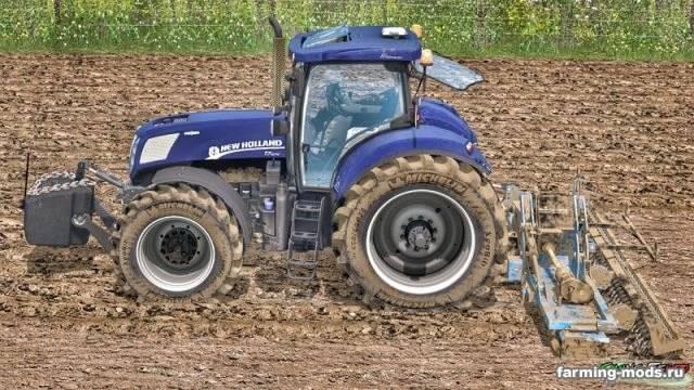"Мод ""New Holland T7 Series T7.220 & 250 & 270 WheelShader v 1.0 Alpha"" для Farming Simulator 2015"