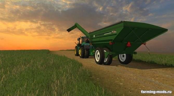 "Мод ""J&M 1412 GRAINCART v 1.0"" для Farming Simulator 2015"