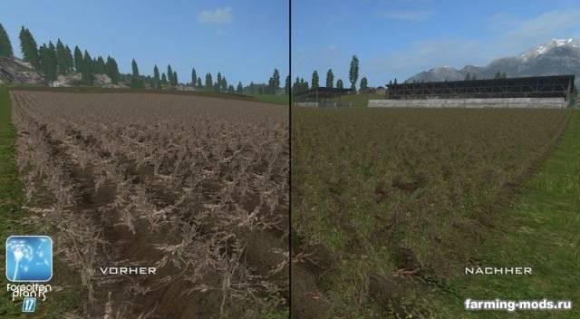 "Мод ""Forgotten Plants – Sugerbeet / Potatoes v 1.0"""