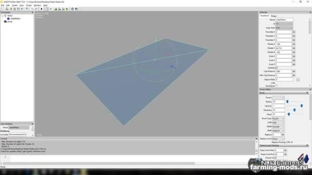 "Мод ""Square Waterplane v 1.0"