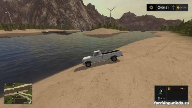 """Мод """"Карта River valley XXL v 1.0.3"""""""