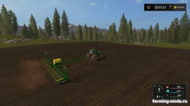 "Мод ""John Deere 7200 24 Row Planter v 1.1.1"""