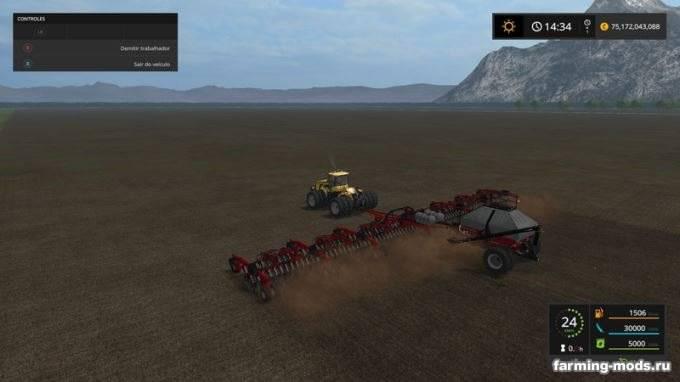 "Мод ""CaseIH Cart Air Seeder 32m v 2.0"""